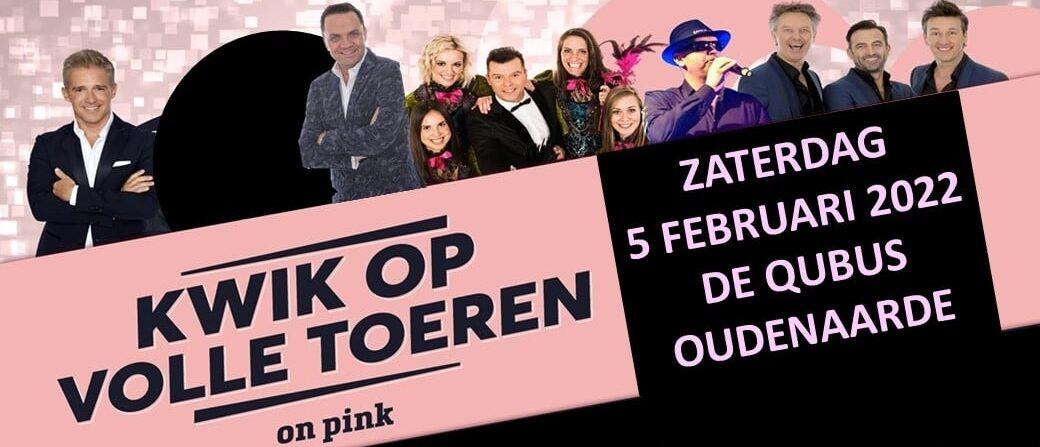 Kwik Op Volle Toeren ~ On Pink